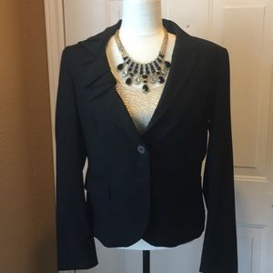 Rachel Roy black blazer size 10